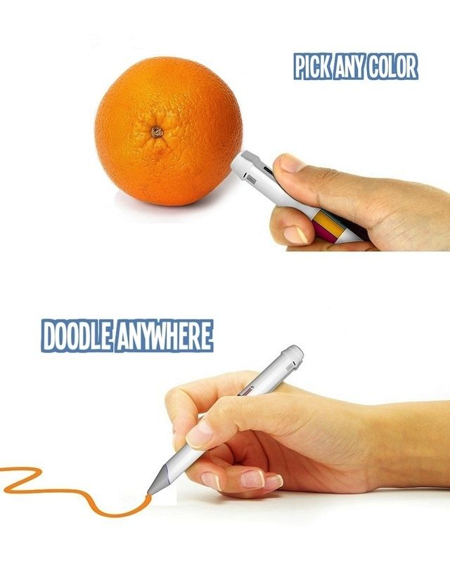 This Chameleon-Like Pen Can Match And Recreate Any Color You See In The World   The Creators Project