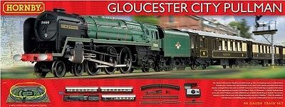Other OO Scale 4978: Hornby R1177 Oo Scale Gloucester City Pullman Train Set -> BUY IT NOW ONLY: $211.5 on eBay!