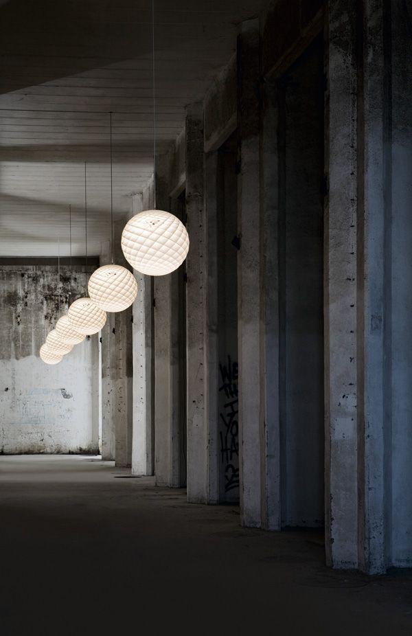 Patera pendant light (based on the Fibonacci Sequence)   Louis Poulsen