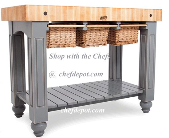 Beau The American Heritage Collection Of Butcher Block Tables