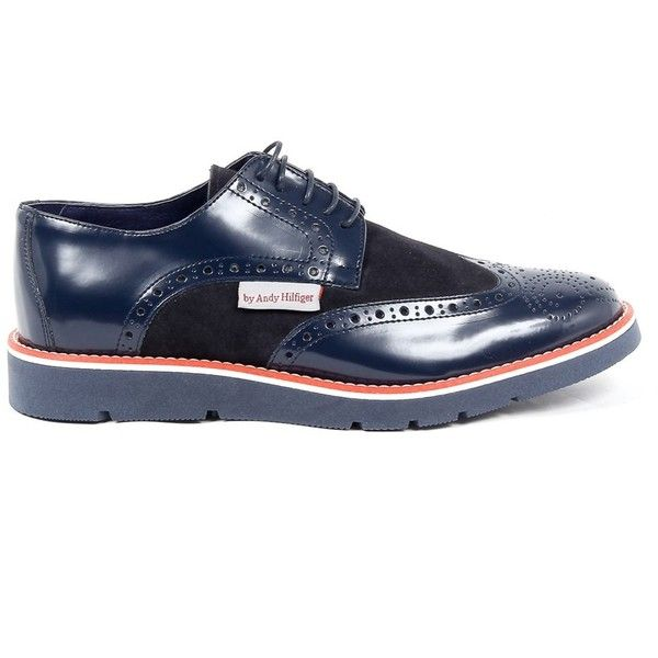 Andrew Charles Mens Brogue Oxford Shoe ($230) ❤ liked on Polyvore featuring men's fashion, men's shoes, men's oxfords, blue, shoes, mens oxford shoes, mens blue brogues, mens rubber shoes and mens blue oxford shoes