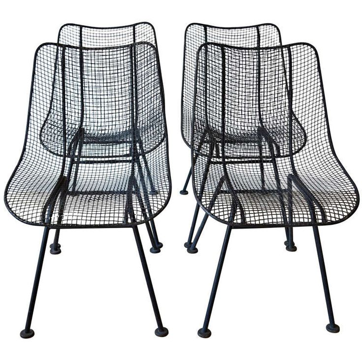 1000 Images About Woodard Sculptura Wire Chairs On
