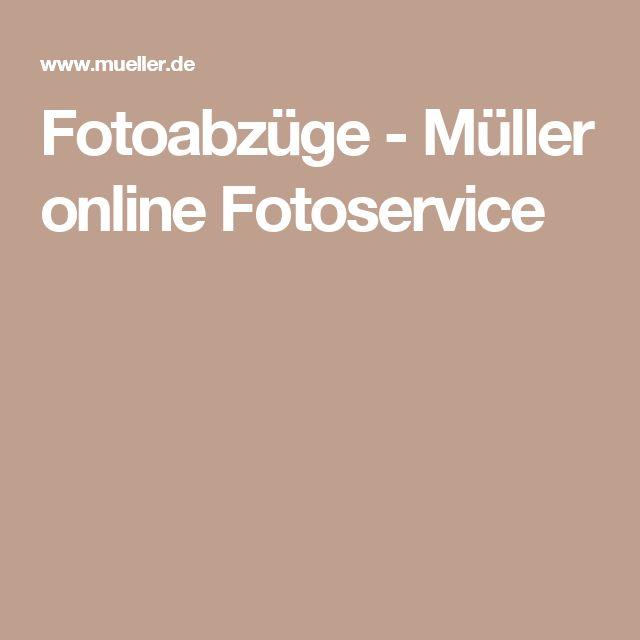 Fotoabzüge - Müller online Fotoservice