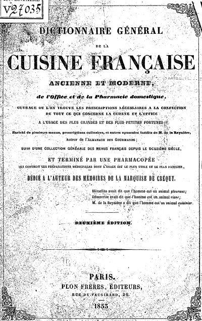 Les 25 meilleures id es de la cat gorie dictionnaire - Dictionnaire cuisine francais ...