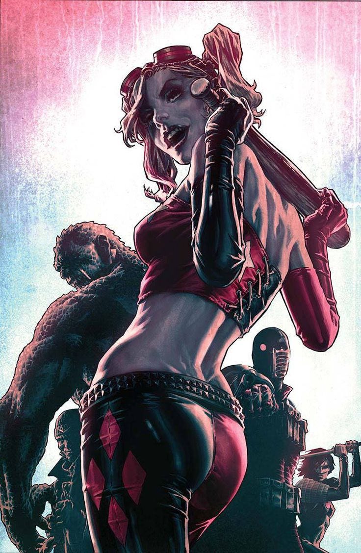 Suicide Squad by Lee Bermejo