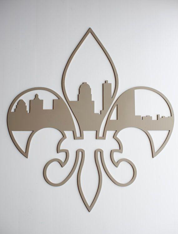 Fluer-De-Lis Louisville Skyline.... I MUST OWN THIS!!!!!!!