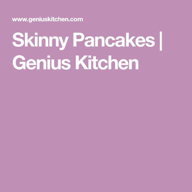 Skinny Pancakes   Genius Kitchen