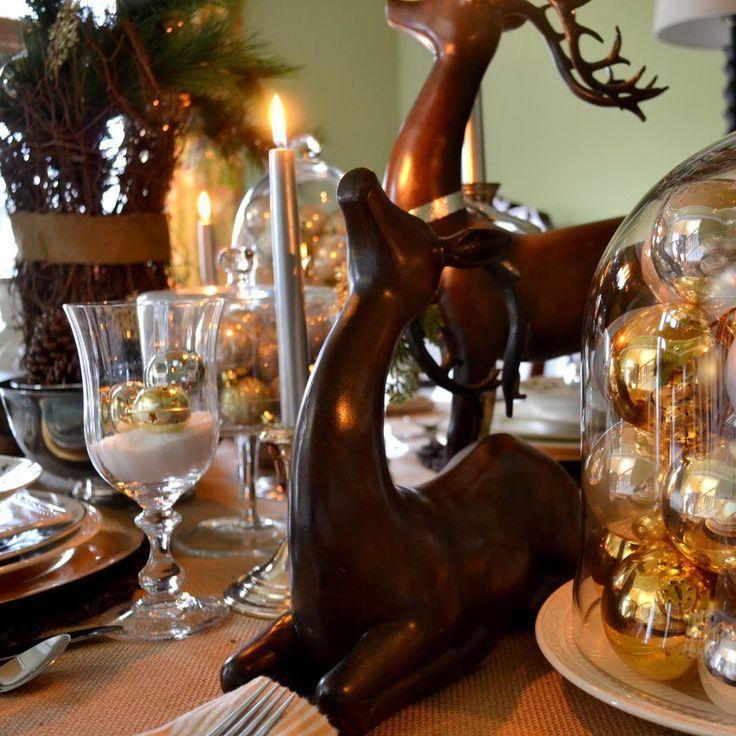 17 best images about christmas table decorations on for Christmas decoration 94