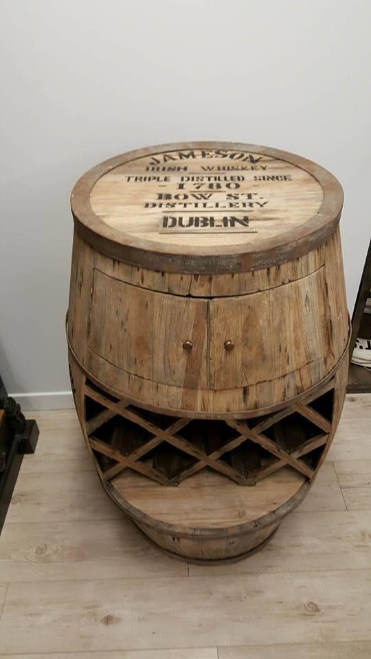 NEWTIQUE | Whiskey barrel – Weathered Oak