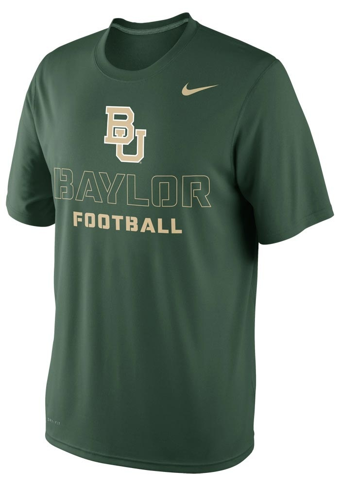 Baylor Bears Nike T-Shirt - Mens Green Practice Weight Room DriFit T-Shirt http://www.rallyhouse.com/shop/baylor-bears-nike-baylor-bears-nike-tshirt-mens-green-practice-weight-room-drifit-tshirt-12518452 $28.00