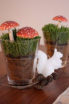 Beautiful...wish I knew how to make these mushrooms...