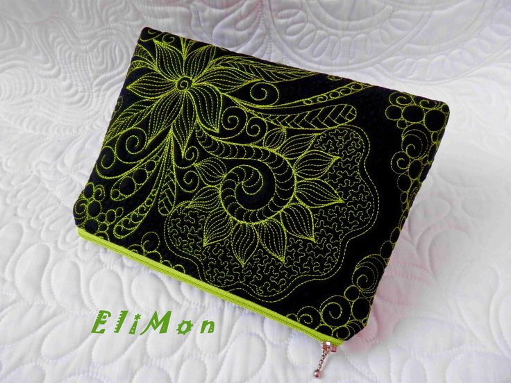 Quilting cosmetic bag