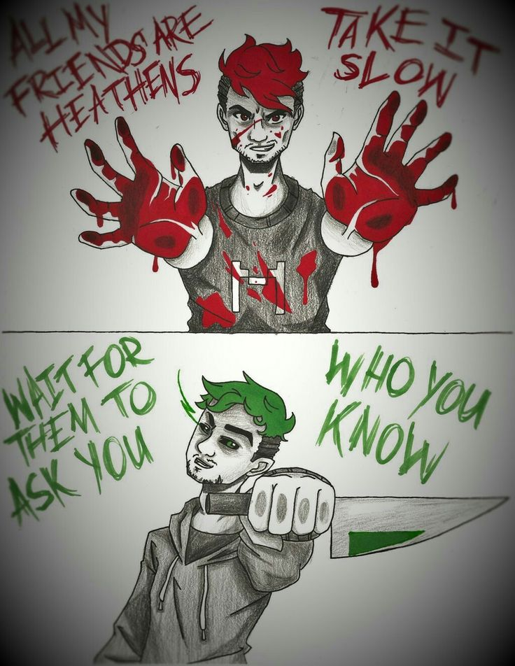 Darkipler and Antisepticeye