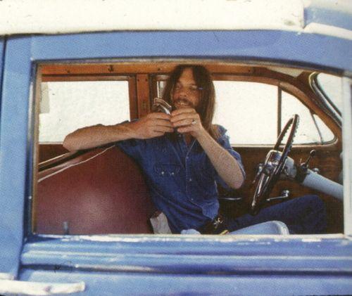 Neil Young   La Honda, California   1970    Photo by Henry Diltz