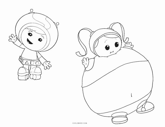 Team Umizoomi Coloring Page New Free Printable Team Umizoomi Coloring Pages For Kids
