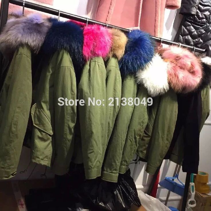 YOUMIGUE Women winter warm natural large fox fur collar real fur parka with luxury rex rabbit fur liner camouflage parka jacket#real fur parka