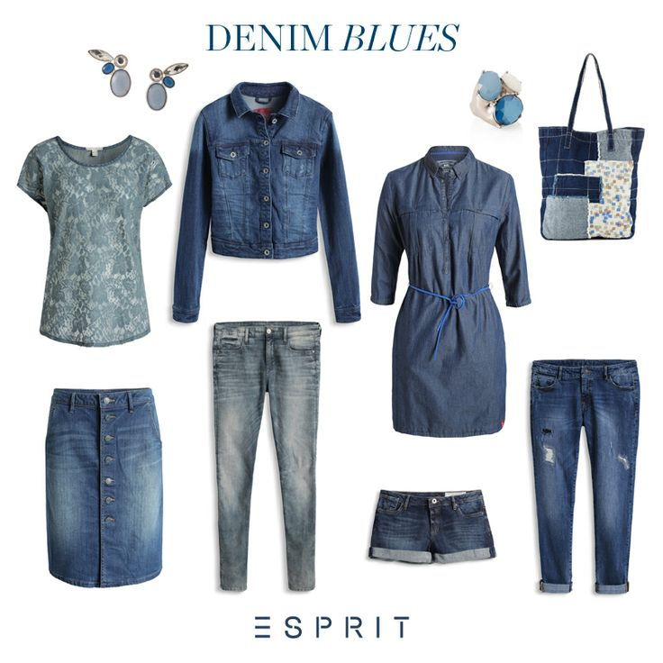 We simply can't live without #denim! Take a look at our #favorite #jeans and this #season's must have piece, the denim #skirt.