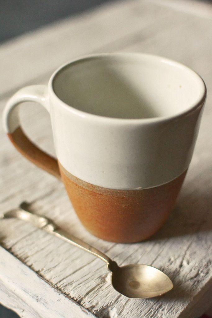 DIPPED TERRACOTTA MUG As seen in Country Living