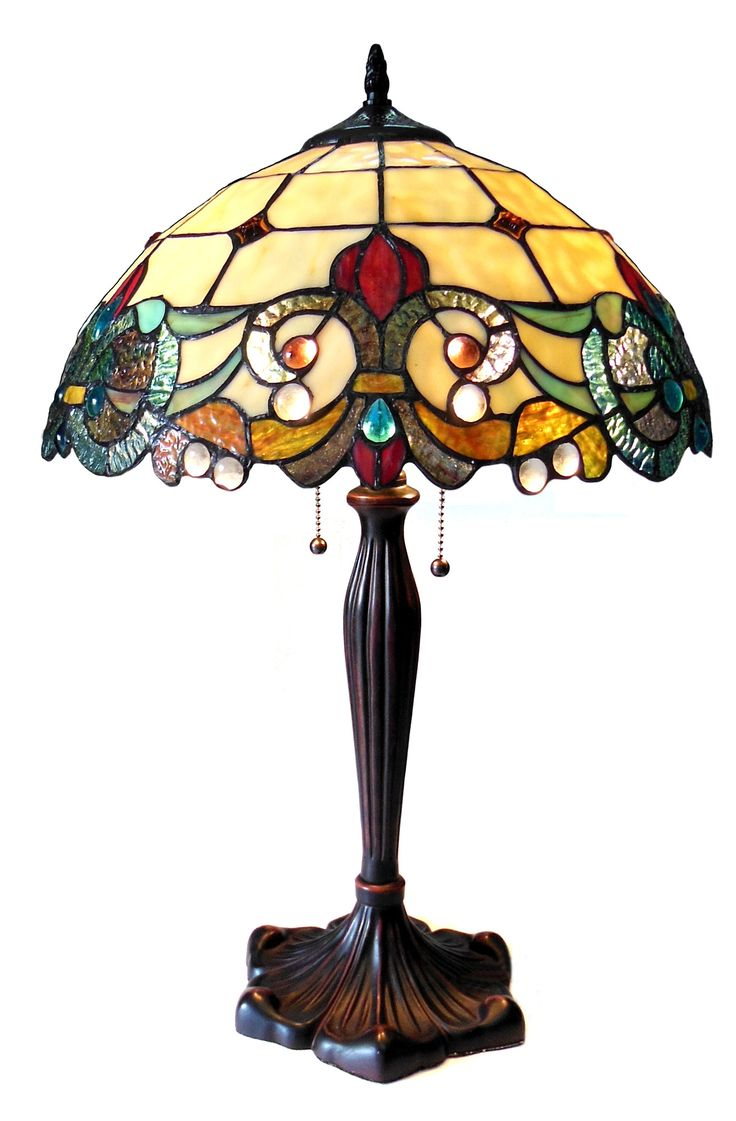 Best 25 victorian table lamps ideas on pinterest victorian lamp features bulb type max type a bulb not included comes with pull chain pieces glass cut and 45 cabochons number of lights fixture finish geotapseo Image collections