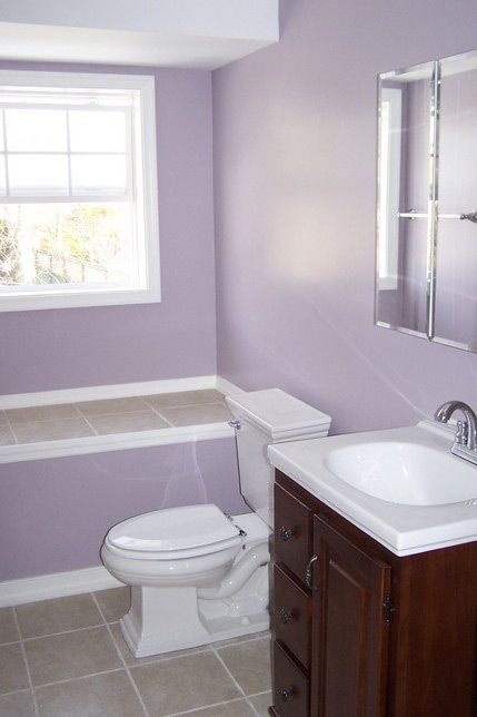 36 best images about lavender bathrooms on pinterest for Bathroom ideas uk grey
