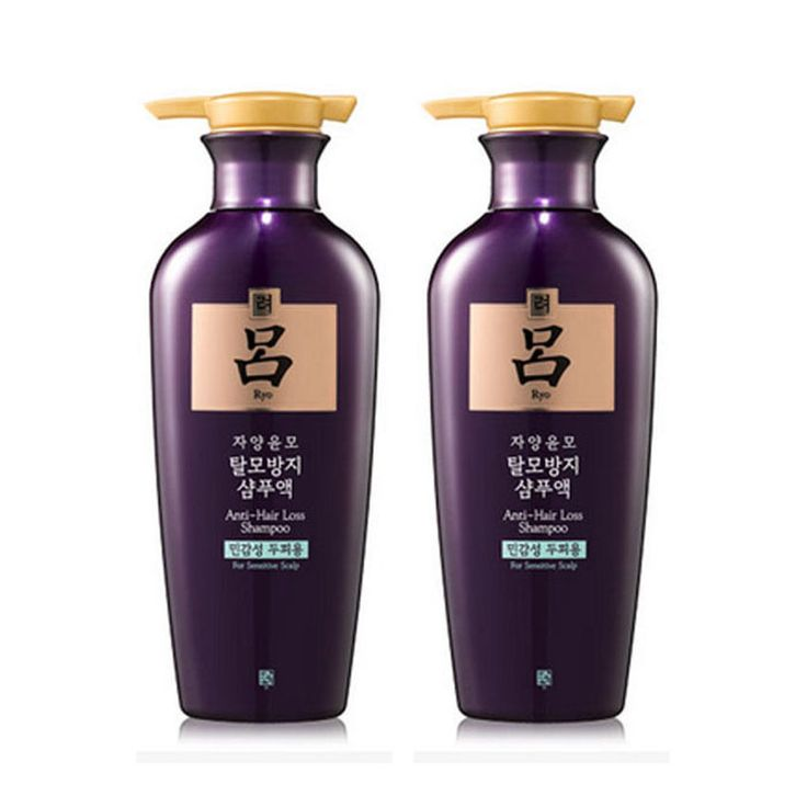 2 Pcs RYO Jayang Yoon Mo 400ml(13.52oz) Anti Hair loss Shampoo For Sensitive #RYO