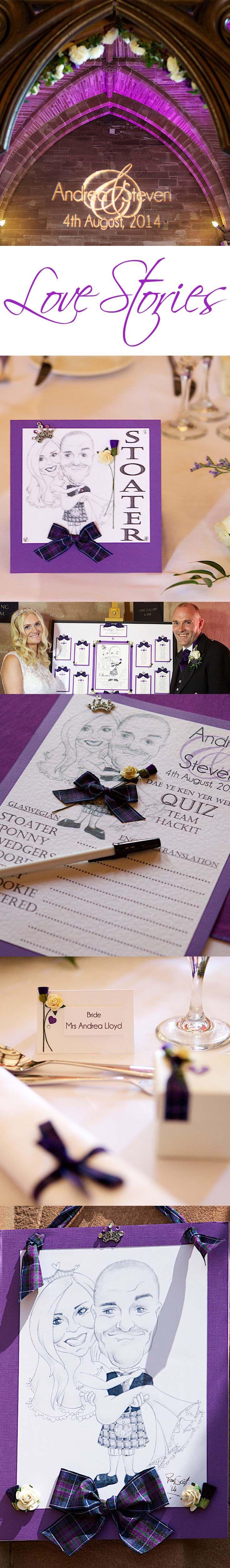 English brideu0027s wedding to Scottish groom Deep