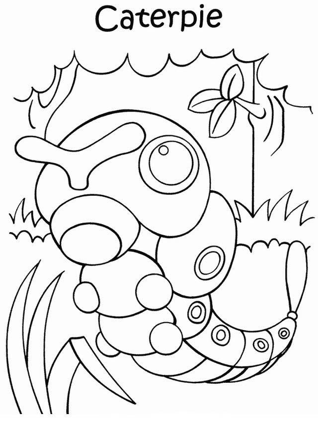 Disegni da colorare per bambini. Colorare e stampa Pokemon 44