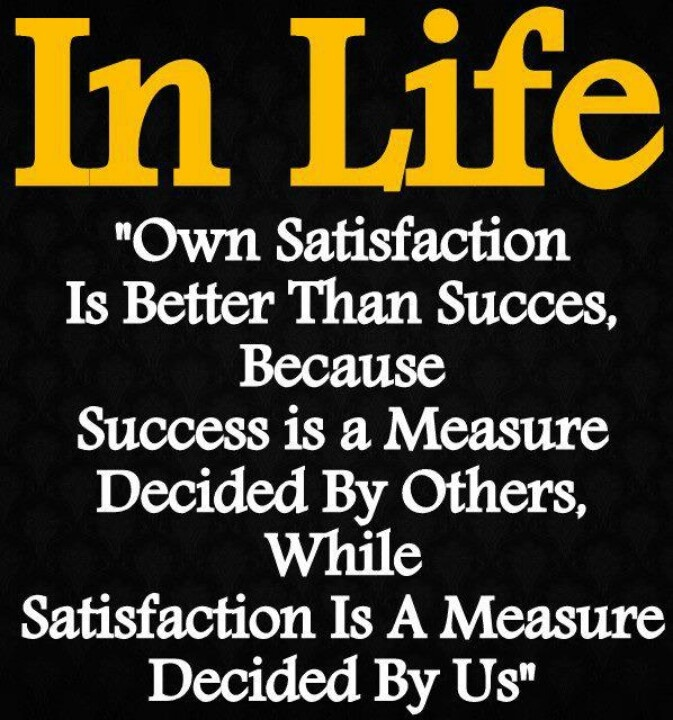 How Do You Measure Your Life?