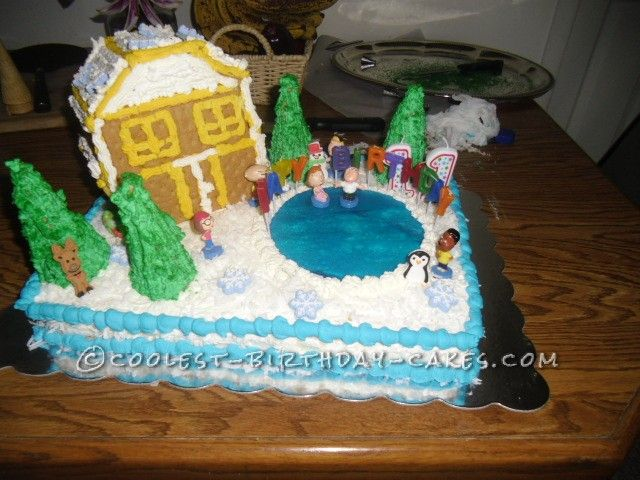 Coolest Family Guy Birthday Cake... This website is the Pinterest of birthday cake ideas