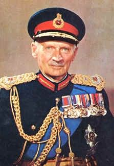 """Field Marshal Bernard Law Montgomery, 1st Viscount Montgomery of Alamein, KG, GCB, DSO, PC (17 November 1887 – 24 March 1976), nicknamed """"Monty"""" and the """"Spartan General"""", was a British Army officer."""