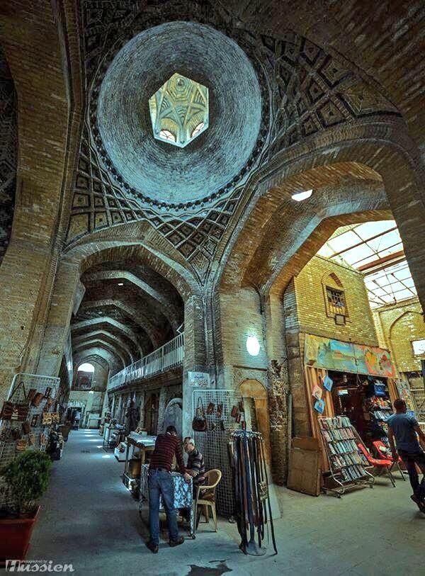 Al-Saray Market in the old part of Baghdad