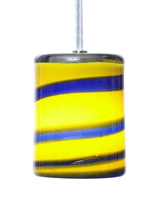 71% OFF Arttex Spring Pendant, Blue/Yellow
