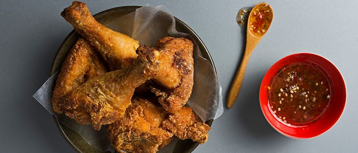 Learn to make Thai-style fried chicken. Hat Yai Fried Chicken This Thai-style chicken is double-fried