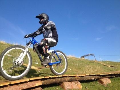 Downhill at Monte San Primo