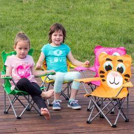 Cadeira Dobrável Infantil com Animais