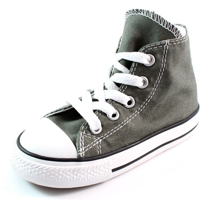 gevonden Converse All Stars High kinder sneakers Grijs ALL20