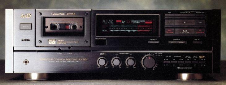 A&D GX-Z9100EX  1989