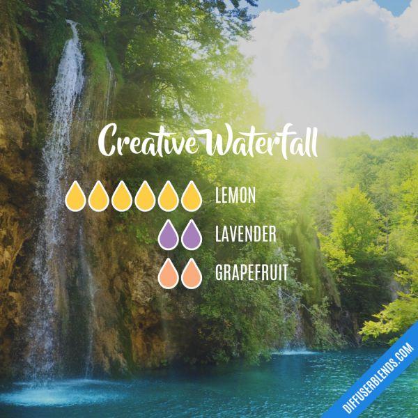 Creative Waterfall - Essential Oil Diffuser Blend