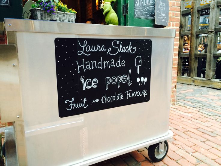 Hand made ice pops at The Distillery. #summer #livingatthedistillery #distillerydistrict