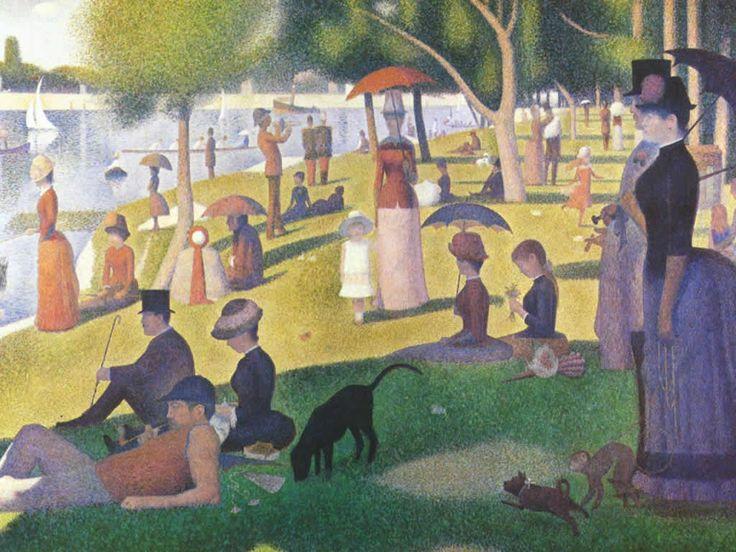 Seurat: Grand Jatt, Grandjatt, Lagrand, Georgesseurat, Sunday Afternoon, George Seurat, The Grand, Art Institut, The Sundayafternoo