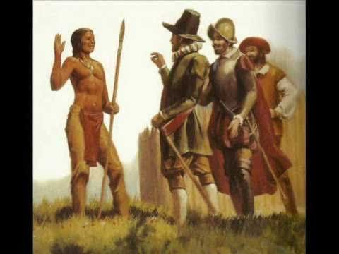 Squanto's Story- 15 min video chronicling his kidnapping, time in Spain and England, his voyage back and his introduction to Samoset and the Pilgrims
