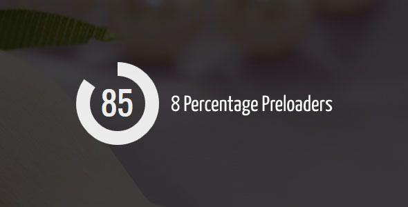 CodingJack's Percentage Preloader
