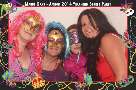Gallery Amrod Year - End Street Party - 6 December 2014   Photo Booth 1   Face-Box