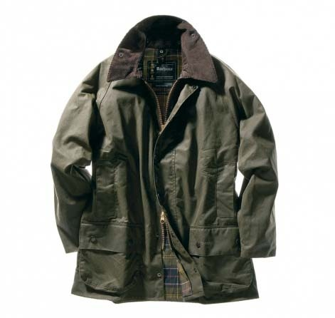 Beaufort Jacket by Barbour: My dad had a couple of these and the moleskin hand warmer pockets, corduroy collar, and scent of the waxed cotton really remind me of him/them... I asked him the other week whatever happened to his Barbours, hoping I'd maybe be able to snag one of these rugged beauts for myself - all worn in and vintage-like. He can't remember what happened to them.