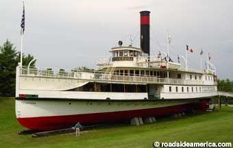 Steamship Ticonderoga.