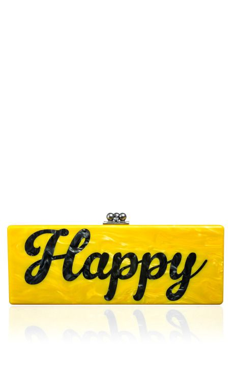 Shop Flavia Happy by Edie Parker for Preorder on Moda Operandi