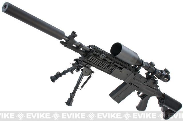 Pre-Order ETA September 2015 Evike Custom M14 EBR Airsoft ...