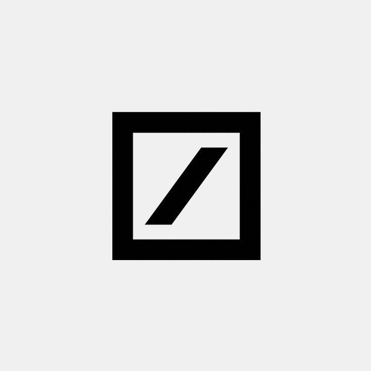 Anton Stankowski Deutsche Bank logo (1974) Banks logo