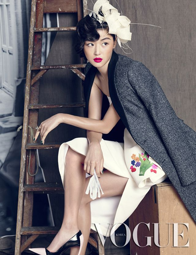 Jeon Ji-hyun // Vogue Korea // September 2013