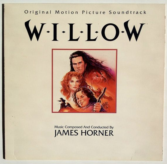 Willow (Original Motion Picture Soundtrack) LP Vinyl Record Album, Virgin Records America, Inc - 7 90939-1, 1988, Original Pressing